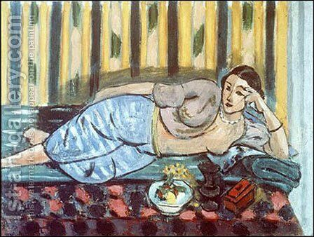 L'Odalisque au Coffre rouge (D.-M. III) by Henri Matisse - Reproduction Oil Painting