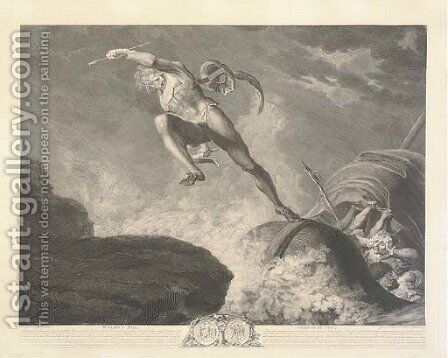 William Tell, by Charles Guttenberg by (after) Fuseli, Henry (Fussli, Johann Heinrich) - Reproduction Oil Painting