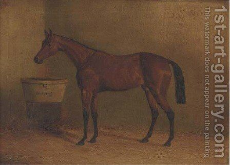 Musjid, winner of the Derby 1859 by (after) John Frederick Herring - Reproduction Oil Painting