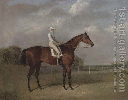 Robert Ridsdale's Bloomsbury, with Templeman up by (after) John Frederick Herring - Reproduction Oil Painting