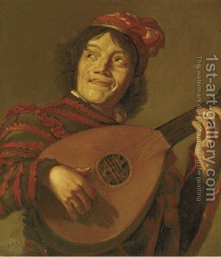 The Jester by (after) Judith Leyster - Reproduction Oil Painting