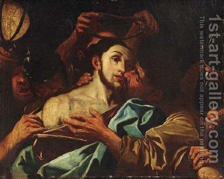 The Betrayal of Christ by (after) Ludovico Carracci - Reproduction Oil Painting