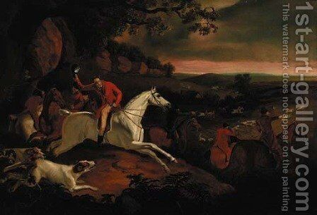 Breaking Covert by (after) Philip Reinagle - Reproduction Oil Painting