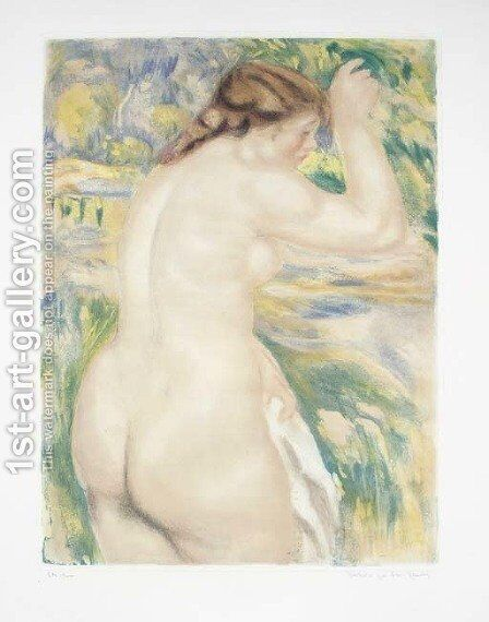 Nu by (after) Pierre Auguste Renoir - Reproduction Oil Painting