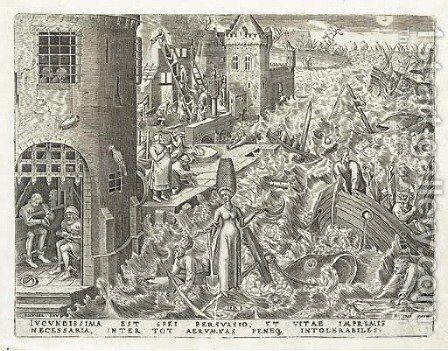 Spes, from The Set of Seven Virtues by (after) Pieter The Elder Bruegel - Reproduction Oil Painting