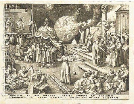 Temperantia, from The Set of the seven Virtues by (after) Pieter The Elder Bruegel - Reproduction Oil Painting