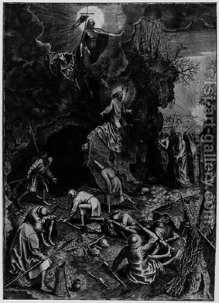 The Resurrection by (after) Pieter The Elder Bruegel - Reproduction Oil Painting