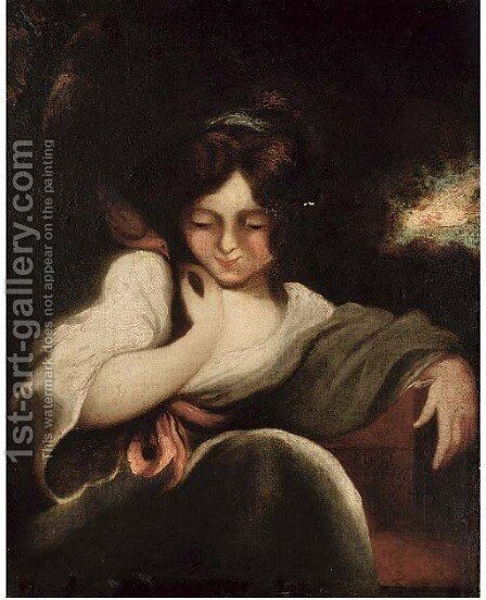 Robinetta by (after) Sir Joshua Reynolds - Reproduction Oil Painting