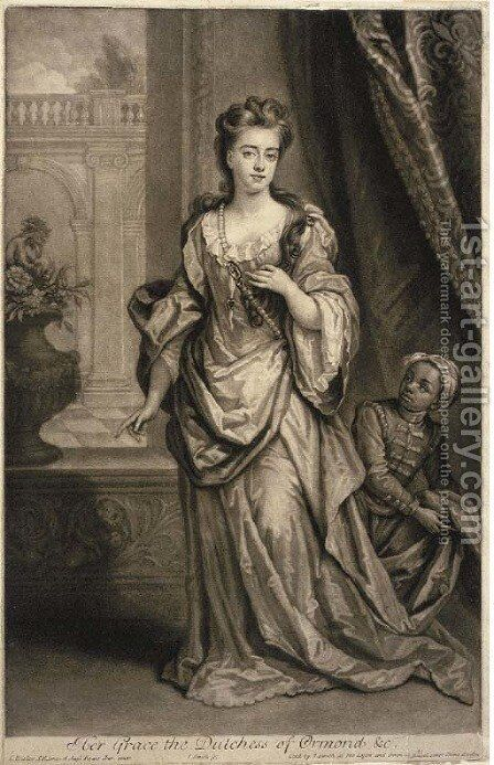Amelia Countess of Ossory, by Thomas Watson by (after) Sir Peter Lely - Reproduction Oil Painting