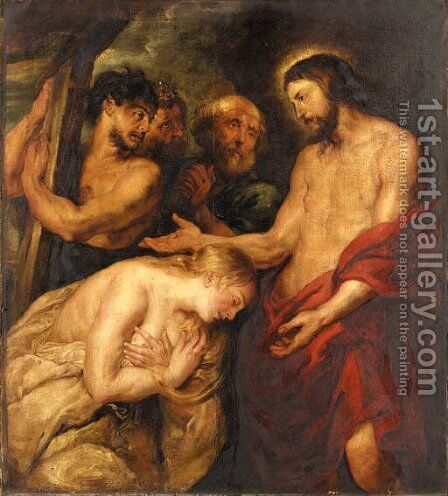 Christ by (after) Sir Peter Paul Rubens - Reproduction Oil Painting