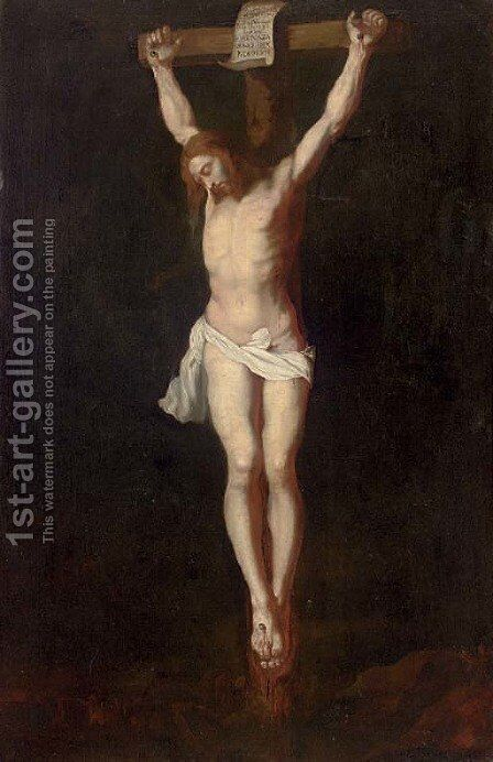 The Crucifixion 2 by (after) Sir Peter Paul Rubens - Reproduction Oil Painting