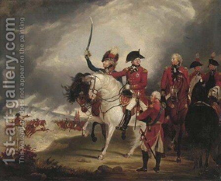 King George III 2 by (after) Sir William Beechey - Reproduction Oil Painting