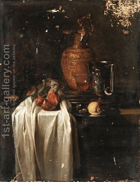 Still life by (after) Willem Kalf - Reproduction Oil Painting