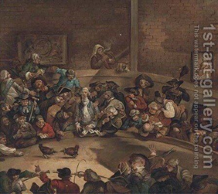 The cockpit by (after) William Hogarth - Reproduction Oil Painting