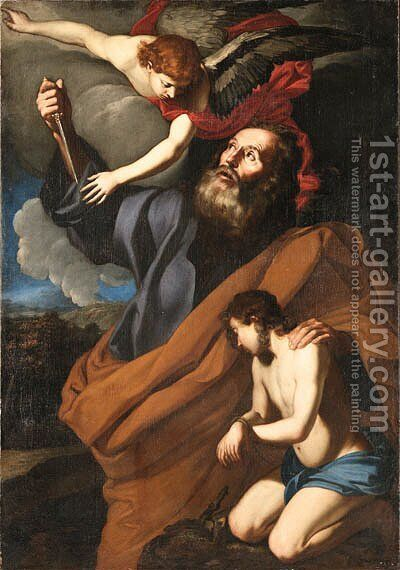 The Sacrifice of Isaac by Agostino Beltrano - Reproduction Oil Painting