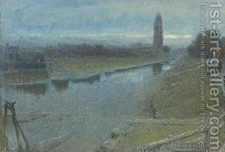 Boston 2 by Albert Goodwin - Reproduction Oil Painting