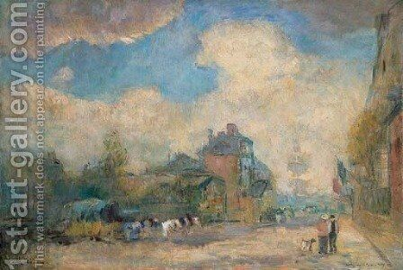 Le Havre 2 by Albert Lebourg - Reproduction Oil Painting