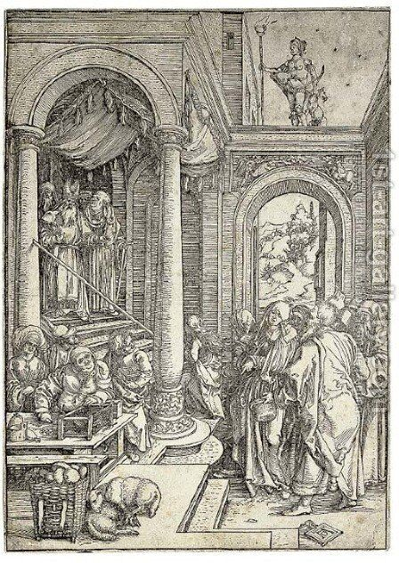 Untitled by Albrecht Durer - Reproduction Oil Painting