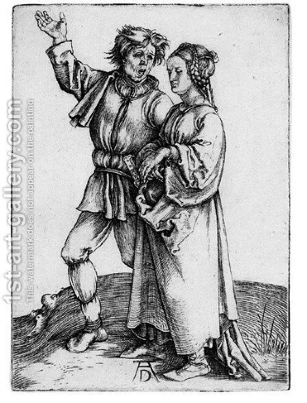The Peasant and his Wife by Albrecht Durer - Reproduction Oil Painting