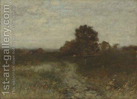 Gray Day by Alexander Helwig Wyant - Reproduction Oil Painting