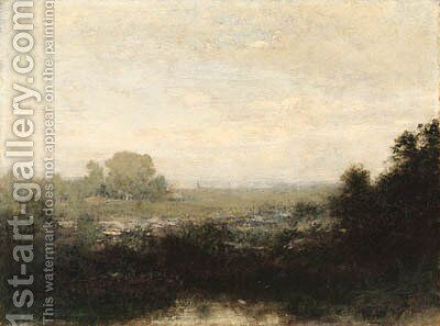 Landscape 2 by Alexander Helwig Wyant - Reproduction Oil Painting