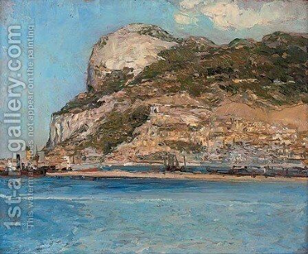 Gibralter by Jacopo Tintoretto (Robusti) - Reproduction Oil Painting