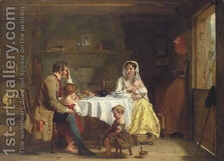 Sabbath by Alexander Johnston - Reproduction Oil Painting