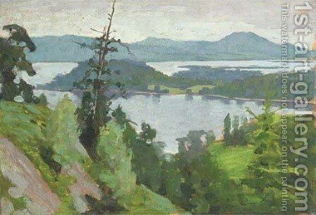 Loch Lomond by Alexander Mann - Reproduction Oil Painting
