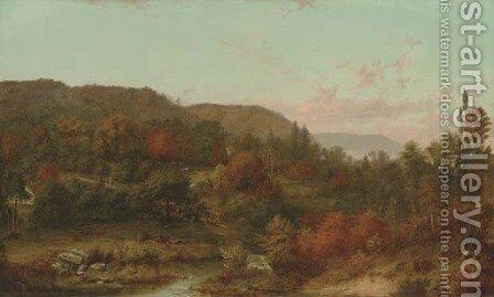 South Malden, Massachusetts by Alfred Bryant Copeland - Reproduction Oil Painting