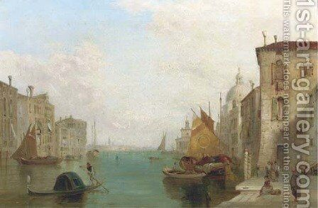 The Grand Canal, Venice 2 by Alfred Pollentine - Reproduction Oil Painting