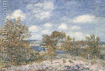 Apres-midi de mai a By by Alfred Sisley - Reproduction Oil Painting