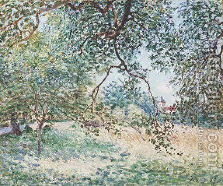 Lisire De Fort Au Printemps by Alfred Sisley - Reproduction Oil Painting