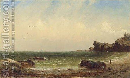 Coastal Scene 2 by Alfred Thompson Bricher - Reproduction Oil Painting