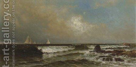 Incoming Tide, Narragansett by Alfred Thompson Bricher - Reproduction Oil Painting
