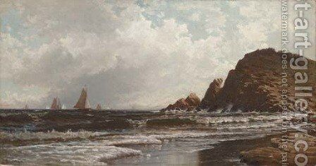 Seascape 3 by Alfred Thompson Bricher - Reproduction Oil Painting