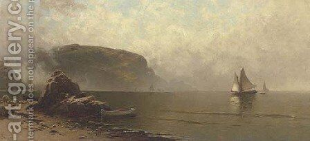 Seascape, Grand Manan by Alfred Thompson Bricher - Reproduction Oil Painting