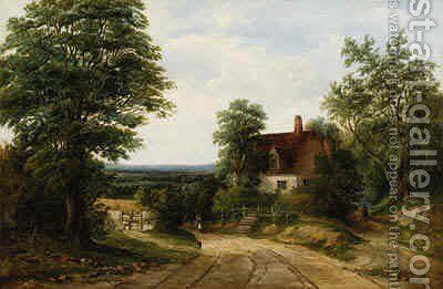 Return from the Fields by Alfred Vickers - Reproduction Oil Painting