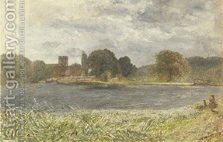 Goring Lock, Stormy Day by (after) Le Moyne, Jacques (de Morgues) - Reproduction Oil Painting