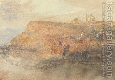 Sunset at Whitby a sketch by (after) Le Moyne, Jacques (de Morgues) - Reproduction Oil Painting