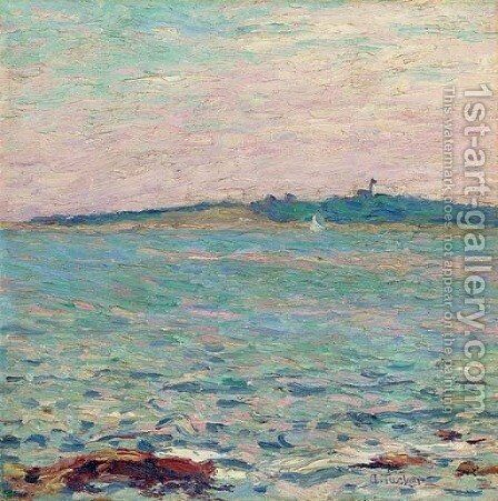 Baker's Island by Allen Tucker - Reproduction Oil Painting