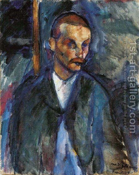 Le mendiant de Livourne by Amedeo Modigliani - Reproduction Oil Painting