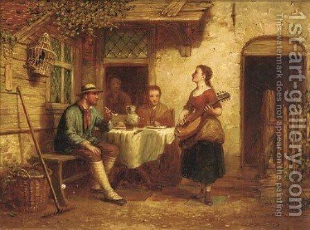 A musical interlude by Andrew Shearbon - Reproduction Oil Painting