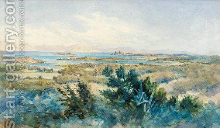 The Greek Islands by Angelos Giallina - Reproduction Oil Painting