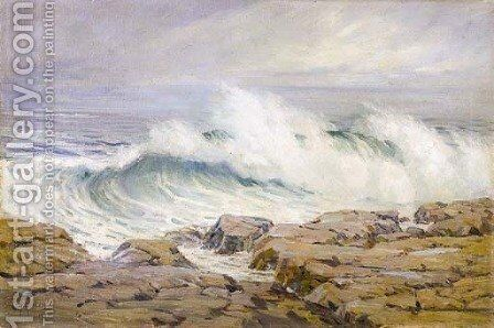 Breaking Wave by Anna Althea Hills - Reproduction Oil Painting
