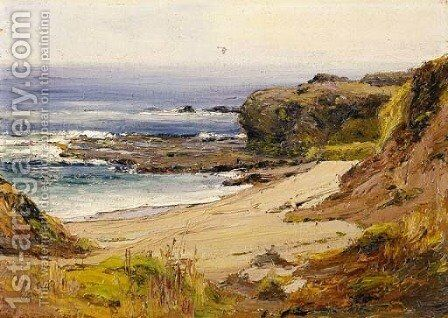 Mussel Rocks, Laguna by Anna Althea Hills - Reproduction Oil Painting