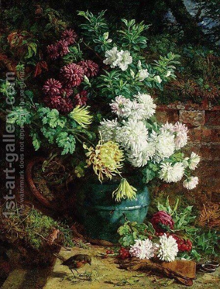 Margaret's Corner by Annie Feray Mutrie - Reproduction Oil Painting