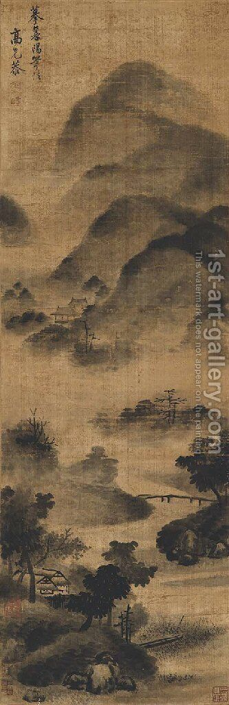 Mist and Clouds by Anonymous Artist - Reproduction Oil Painting