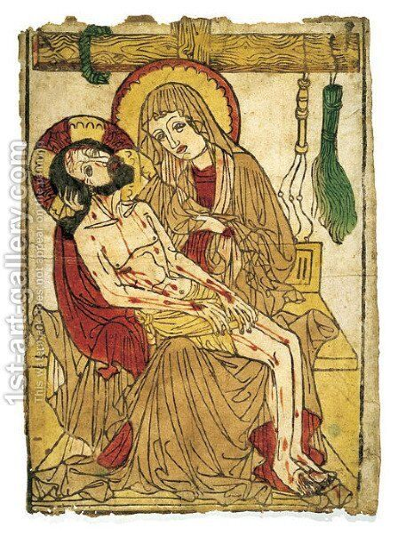 The Pieta by Anonymous Artist - Reproduction Oil Painting