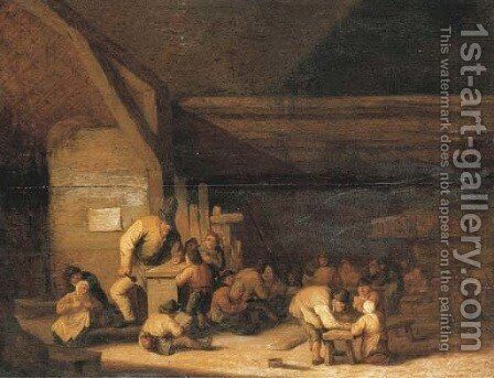 The schoolroom by Anthonie Victoryns - Reproduction Oil Painting