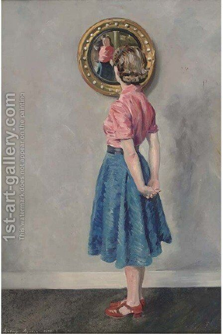 Reflections by Anthony Ayrton - Reproduction Oil Painting